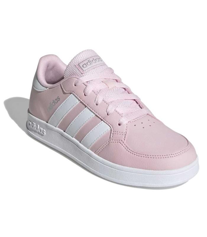 Deportiva Adidas Breaknet Rosa Cordones