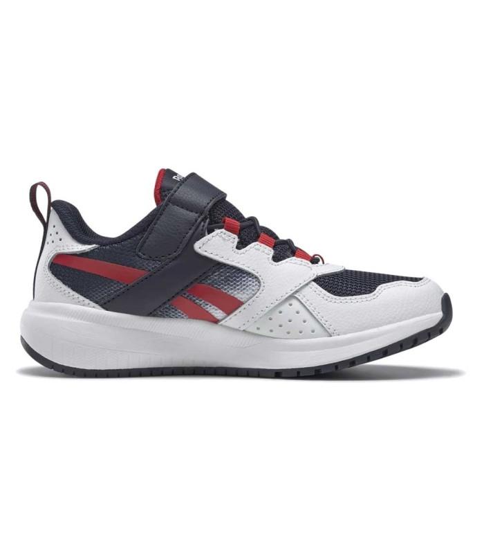 Deportiva Reebok Road Supreme 2 White Navy Red Velcro
