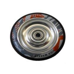 KRF Ruedas 88A  negra y plata