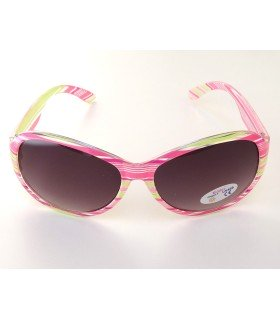 Kiddus gafas junior rosa rayada