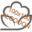 100x100 algodon